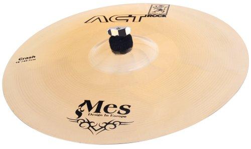 MES voor drums (Act Series Drum Bekken, Materiaal: Brons, gehamerd Crash Bekken 18 inch