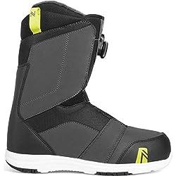 top 10 flow boa boots 2019 Floranger Bore Snowboard Boots-Men's Dark Gray 14