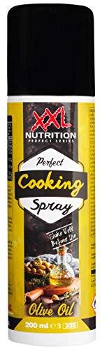XXL Nutrition Perfect Cooking Spray Olivenöl | Sprühöl Zum Kochen | Bratspray Kaloriensparend 200ml