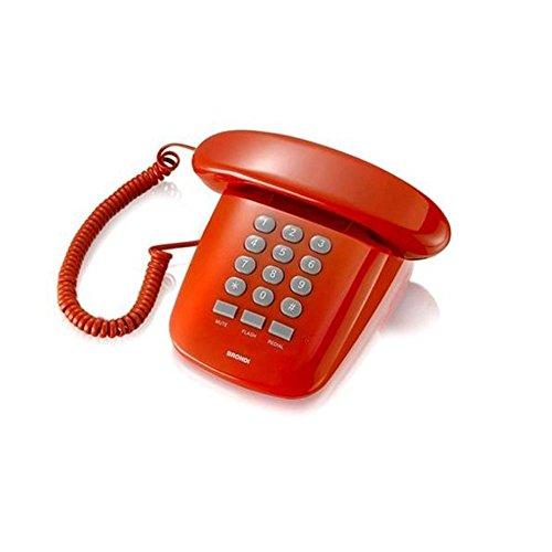 Brondi Sole Telefono Fisso, Rosso Ferrari