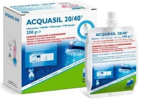CONFEZIONE 4 RICARICHE ACQUASIL 20/40 GR.250 PC200 SOLO PER MODELLI MINIDOS/BRAVODOS