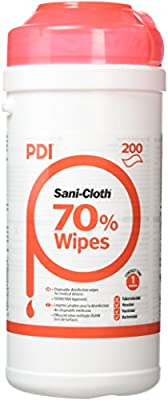 Sanicloth UNXPOO159 Hard Surface Wipe (Pack of 200) by Shermond