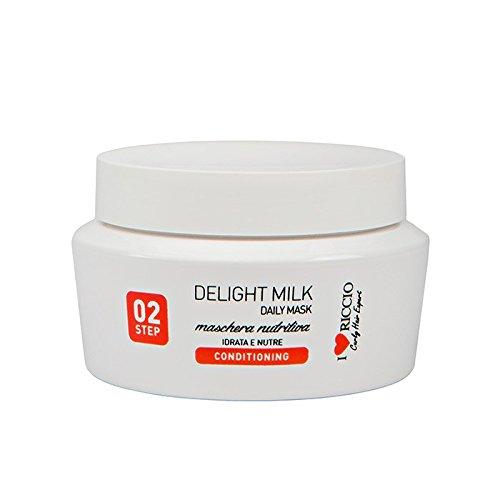 I love riccio Delight Milk Maschera per capelli ricci nutriente ma leggera