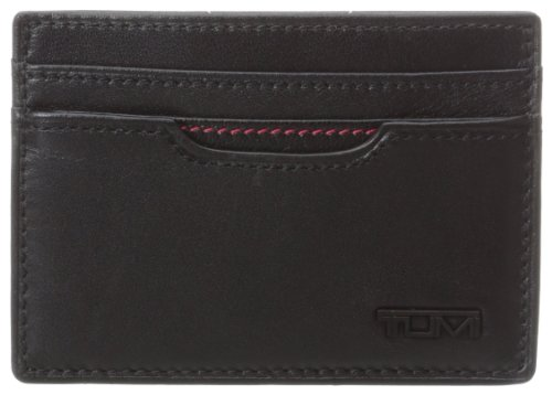 TUMI - Delta Money Clip Card Case Wallet with RFID ID Lock for Men - Black