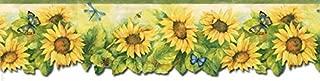 Sunflowers Wallpaper Border BG71361DC by Norwall Wallcoverings
