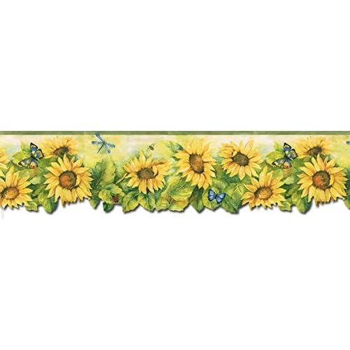 Sunflower Wallpaper Amazon Com