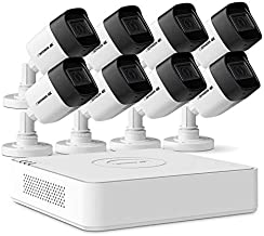 Defender 4k Ultra HD Security Cameras Night Vision Mobile Viewing Motion Detection Cameras for Security Outdoor for Home and Business (8 Channel 2TB 8 Camera)