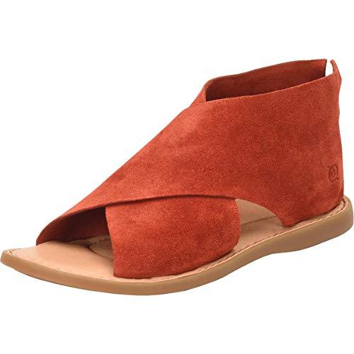 BORN Women's, IWA Sandal RED 9 M
