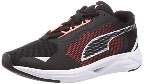 Puma Minima Wn'S, Zapatillas Para Correr De Carretera Mujer, Negro Black White/Nrgy Peach, 37.5 Eu