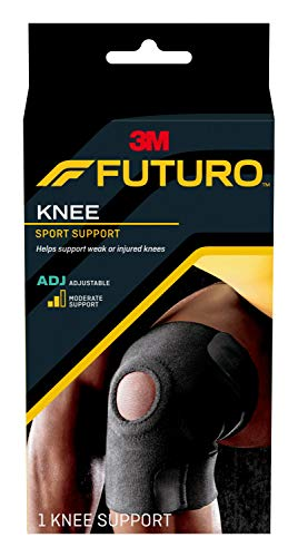 FUTURO Sport Knee Support, Ideal for Athletic and Everyday Activities, One Size