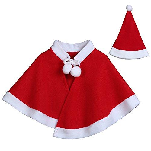 Culater 2017 Bambini del Bambino di Modo dei Vestiti pascoa Bambini Childrens 'Costume Babbo Natale con Cappuccio Cosplay del Capo Veste per Boy Girl
