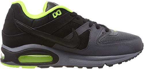 Nike Herren AIR MAX Command Gymnastikschuhe, Grau (Cool Grey/Black/Dark Grey/Volt 038), 41 EU
