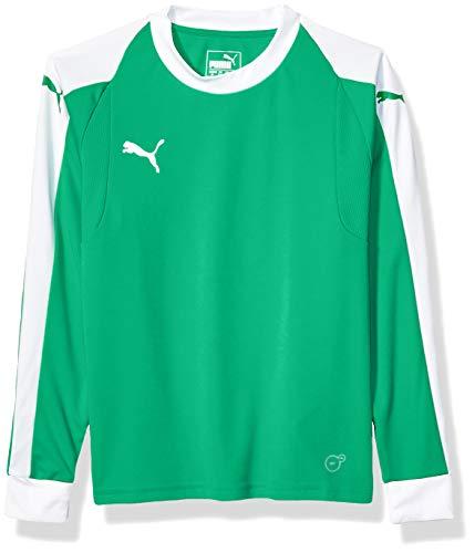 PUMA Unisex Liga Goalkeeper Jersey Youth, Bright Greenpuma White, X-Large