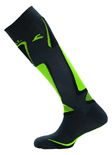 Boreal Ski Breath Ther – Chaussettes Unisexe, Vert, Taille M