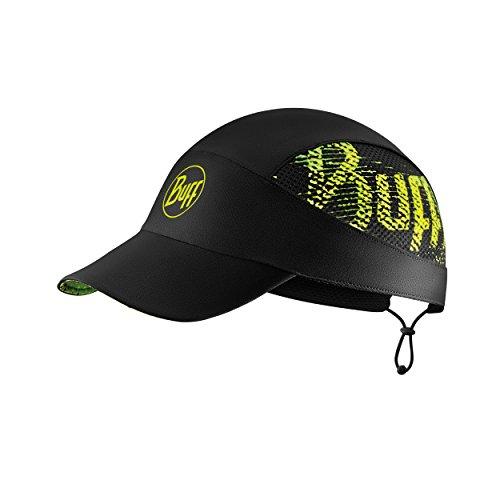 Buff R-Flash Logo Gorra, Unisex Adulto, Black, Talla Única
