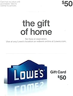 lowes gift card at home depot