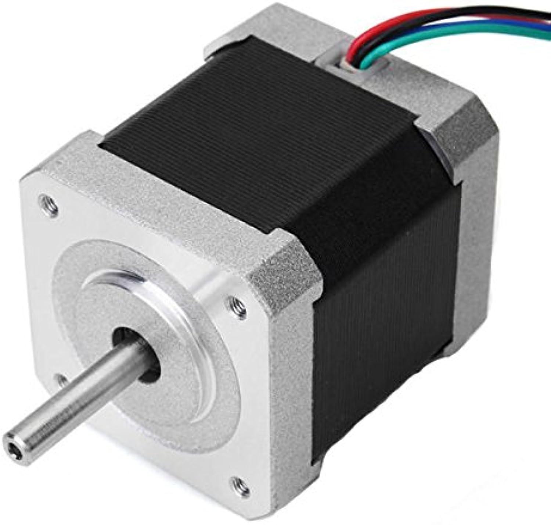 NEMA17 42mm Two Phase 0.9 Hybrid Stepper Motor 48mm Length 1.5A for RouterMotor Stepper Motor1x Stepper Motor