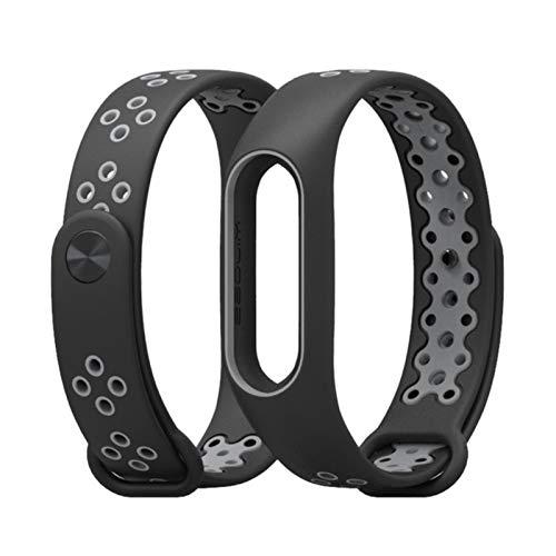Para Mi Band 2 Correa pulsera correa de muñeca para Xiaomi mi band 2 reloj Mi band2 accesorios pulsera inteligente deporte Correa de silicona