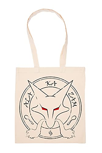 Gunmant Anime Personaje Invocación Bolsa De Compras Beige Durable Reutilizable Eco Friendly Reusable Shopping Bag