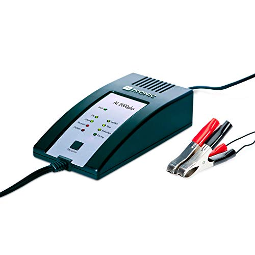 H-Tronic loodacculader AL 2000 Plus 12 V laadstroom (max.) 2 A.