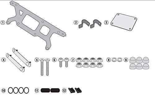 Preisvergleich Produktbild GIVI TL3116KIT Montageset für die Befestigung des S250 Tool Box Suzuki V-Strom 250 (17-18)
