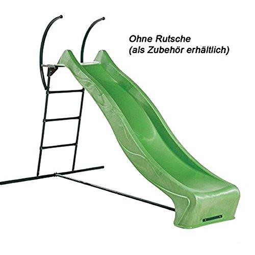 Gartenpirat Leiter für Rutsche 3m OHNE Rutsche für große Kinderrutsche im Garten