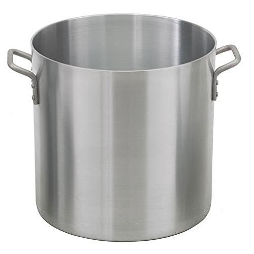 Royal Industries Medium Weight Stock Pot, 40 qt, 14.6' x 14.4' HT, Aluminum, Commercial Grade - NSF Certified