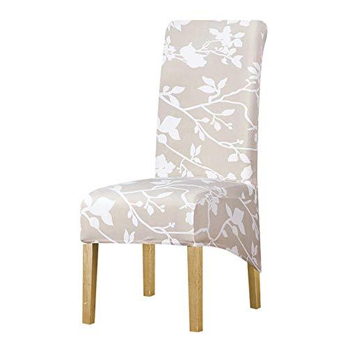 XL-formaat stoelhoes groot formaat groot formaat hoge rug lange stoel stoelhoezen kingsize rug stoelhoezen wasbaar voor thuis hotelbanket, 125840, XL-formaat