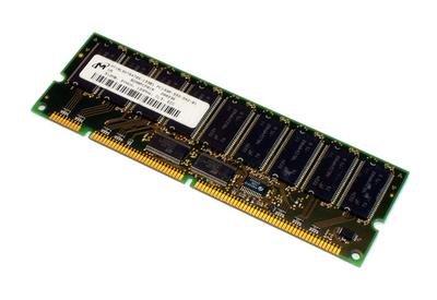 Micron - - Memory - 512 MB - DIMM 168-pin - SDRAM - 133 MHz / PC133 - CL3 - ECC