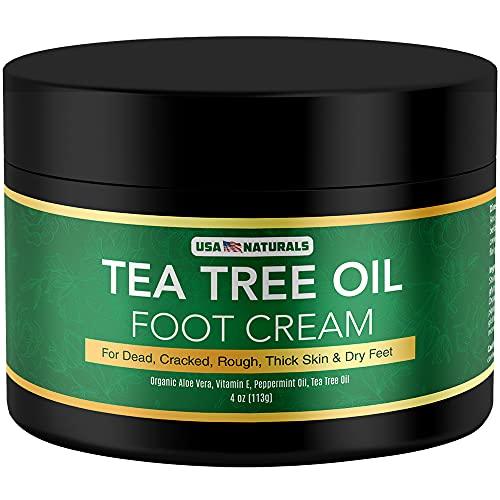 Tea Tree Oil Foot Cream