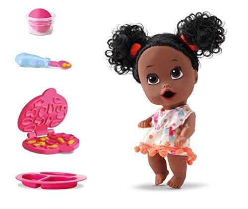 Boneca Little Dolls Come Come Negra Enraizada Divertoys