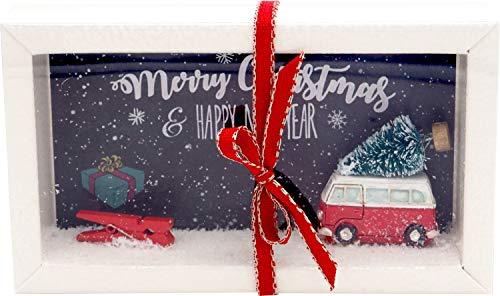 ZauberDeko Geldgeschenk Verpackung Weihnachten Xmas Auto Tannenbaum Geschenk Gutschein