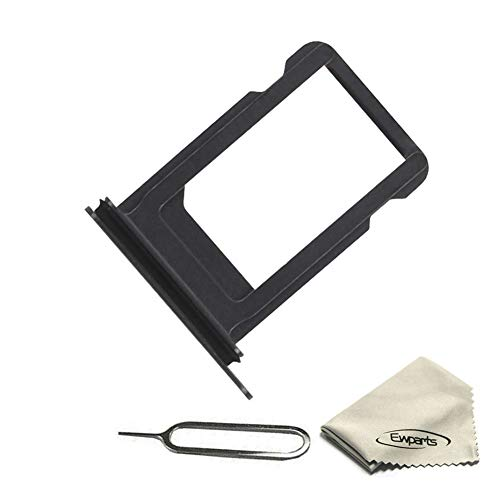 Ewparts Replacement Part for iPhone X Sim Card Tray (Black)