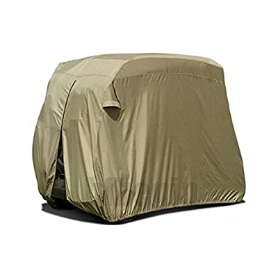 Golf Cart Cover, UV Protection and Water-proof Cart Covers for 2-4 Passengers Seat 4 Seater Heavy Duty Golf Carts EZ-GO Club Car Storage
