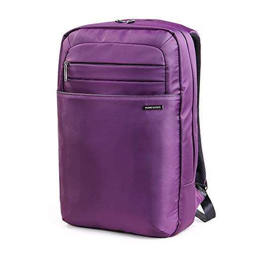 Kingsons KS3045W Anti-Theft 15.6 inches Laptop Backpack,Water-Resistant Casual Backpack,Travel,Hiking,School Bag,Purple B