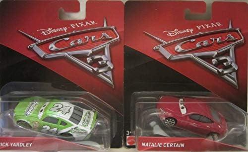Cars 3 Disney Pixar Brick Yardley Natalie Certain Die Cast 2 Car Set product image