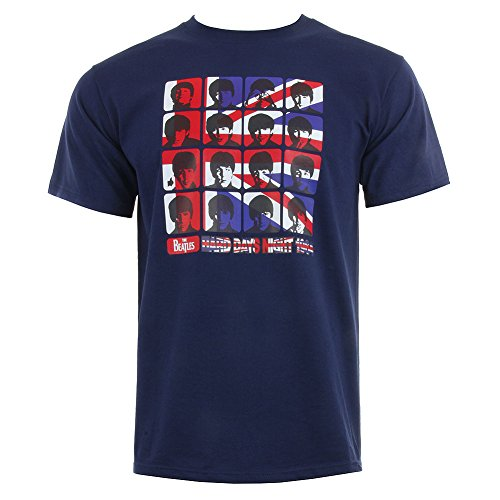 Beatles T-Shirt Navy – Hard Days Night XXL