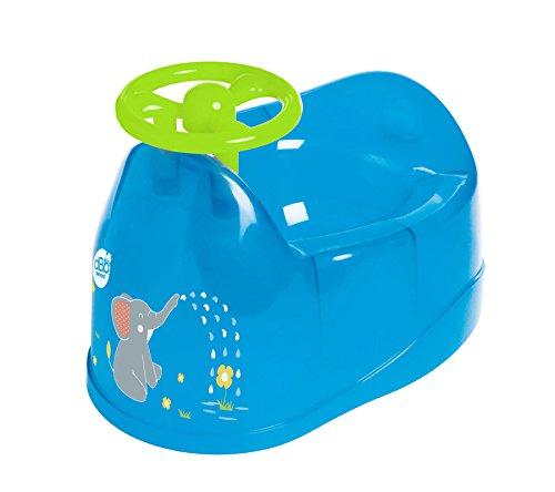 dBb Remond Vasino decorazione elefante con volante blu traslucido