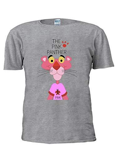 La Pantera Rosa Camiseta De Caricatura Camiseta De Moda Unisex De Moda De Los Hombres De La Camiseta