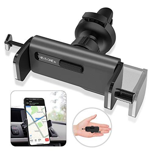 ORYCOOL Auto Handyhalterung, KFZ HandyHalterung Lüftung, 360 Drehung KFZ Handyhalter, Auto Handyhalter Kompatibel mit iPhone 11 Pro, Samsung S20+, Huawei & Mi (für 4.7 Zoll to 6.8 Zoll)(Schwarz)