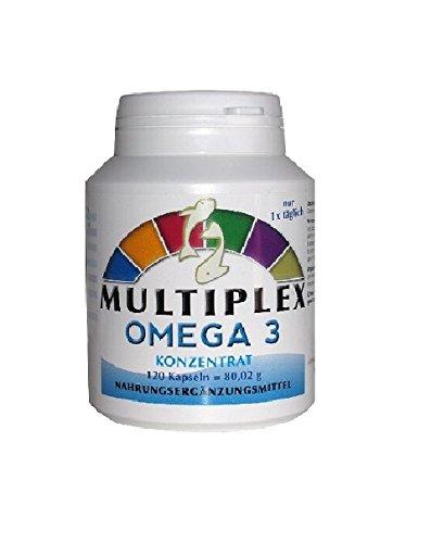 Vita World Multivitamico Omega 3 470mg 120 Capsule Made in Germanya