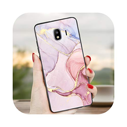 Carcasa para Samsung Galaxy J7, suave mármol brillante para Samsung Galaxy J1 J3 J5 J7 2016 2017 J4 J6 2018 + A5 2017 A6 A8 Plus A7 2018 A20e M11 M21 M31 M30S-cc2-J3 2017