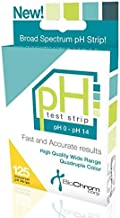 BiochromCorp Universal pH Test Strips Range 0-14 (125 Strips) for Testing Alkaline and Acid Levels in Urine and Saliva, Water, Kombucha, Pool. Keep The Balance. Highly Accurate Results in Seconds