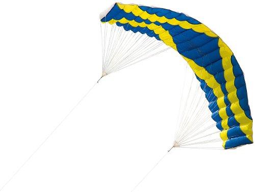 infactory Outdoor-Drachen: 2-Leiner-Lenkdrachen Sky Blaster mit 4 Metern Spannweite (Lenkdrachen Kinder)