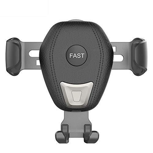 Cuasting auto Qi oplader voor Xs Max X 8 Xr 10W snel opladen Fast auto telefoon houder voor S8 S9