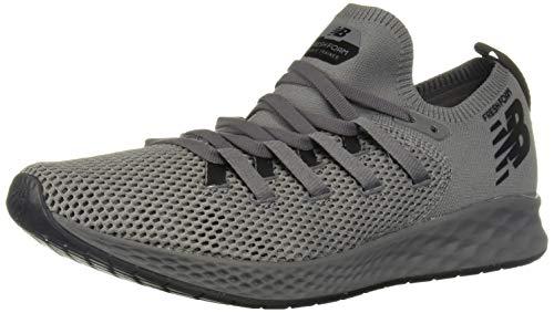 New Balance Men's Zante V1 Trainer Fresh Foam Cross Running Shoe, Castlerock/Black, 12.5 2E US