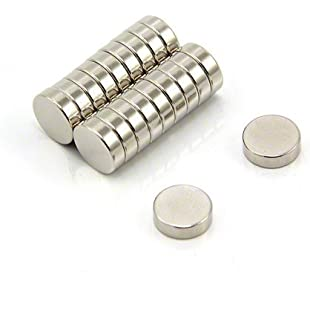 Magnet Expert  10mm dia x 3mm thick N42 Neodymium Magnet - 1.8kg Pull ( Pack of 20 ):Cryptools