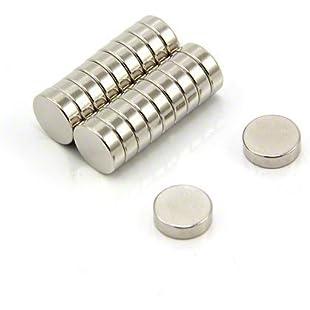 Magnet Expert  10mm dia x 3mm thick N42 Neodymium Magnet - 1.8kg Pull ( Pack of 20 )