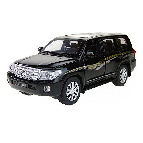 Best Gift 1/32 allié modèle de voiture cool modèle de voiture pour les enfants, noir