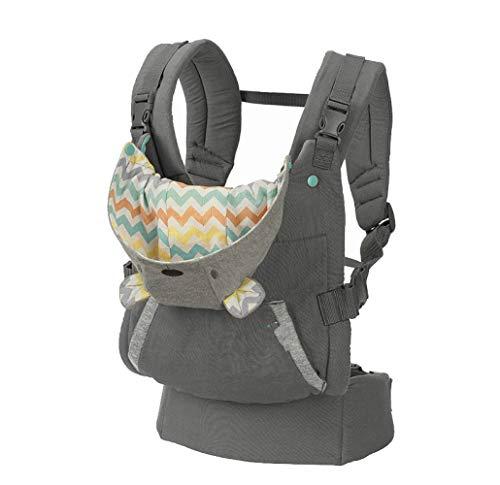Porte-bébés dorsaux Sangle d'épaule pour bébé Sangle pour enfants portable Sac à dos à capuche épaissie Sweat à capuche kangourou